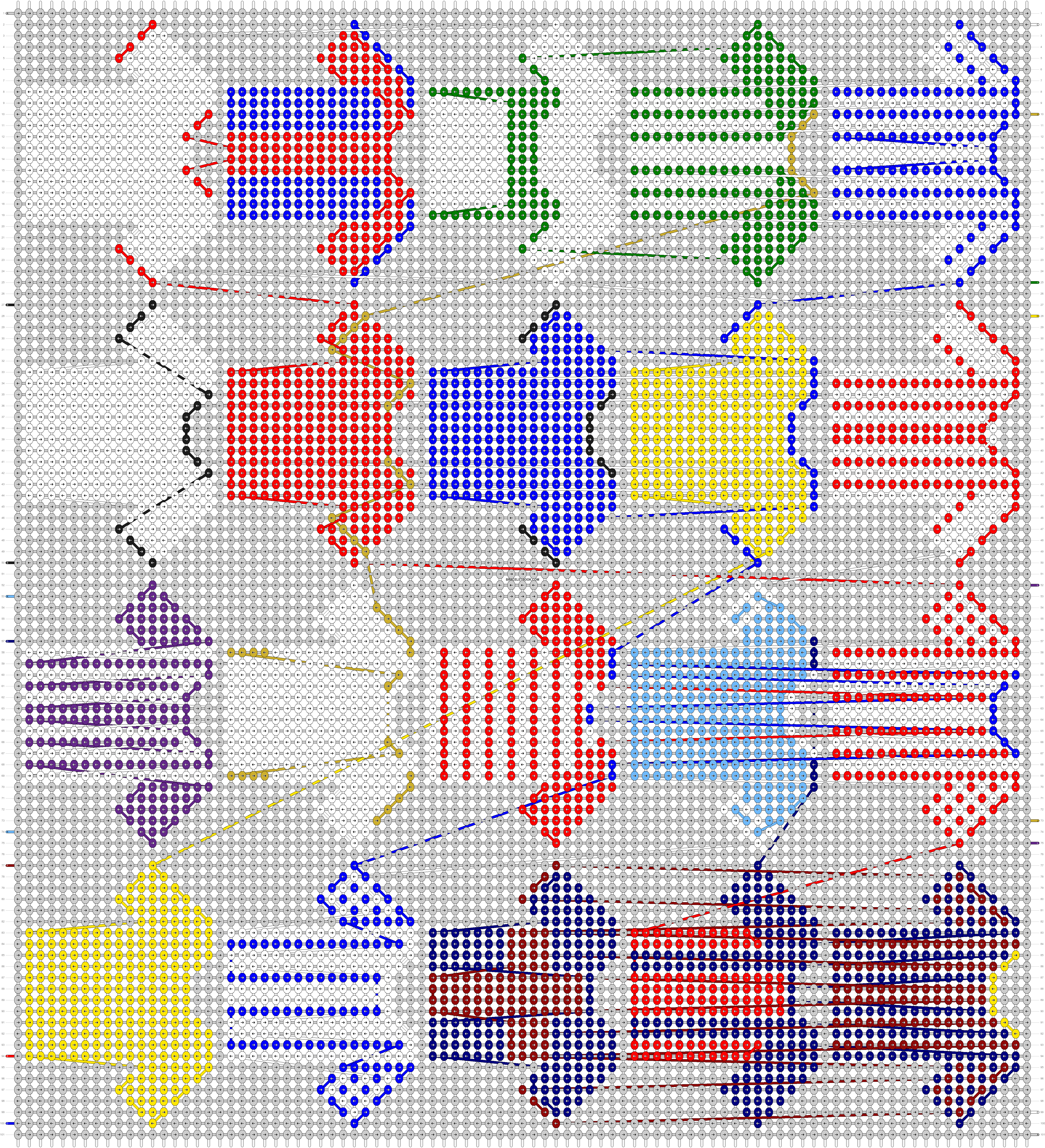 Alpha pattern #56205 pattern