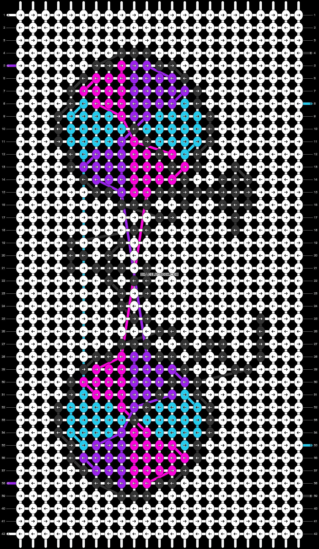 Alpha pattern #56209 pattern