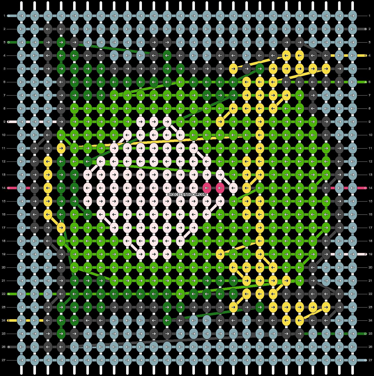 Alpha pattern #56224 pattern