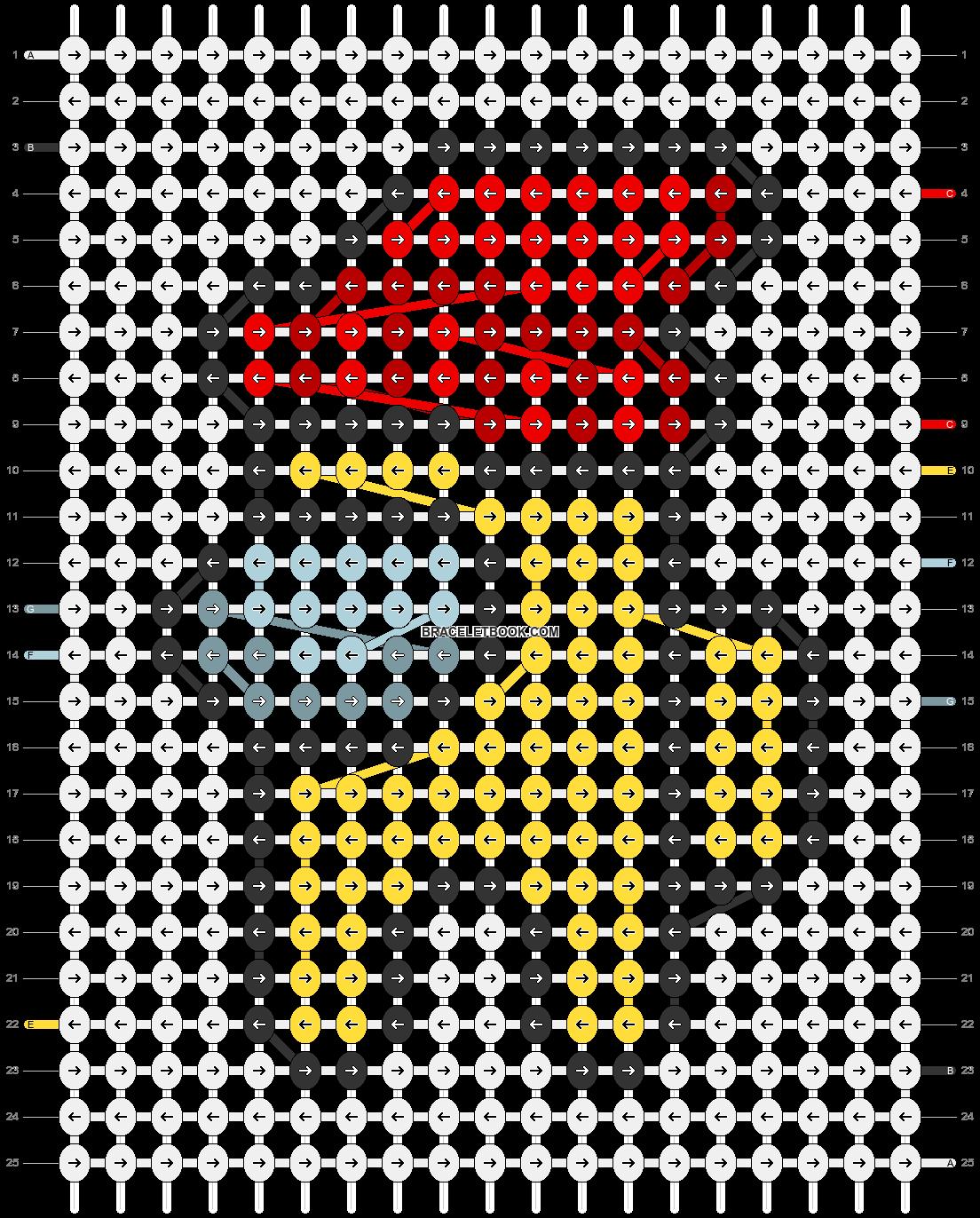 Alpha pattern #56234 pattern