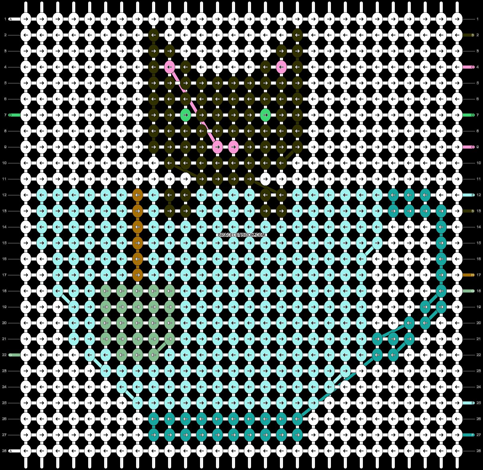 Alpha pattern #56265 pattern