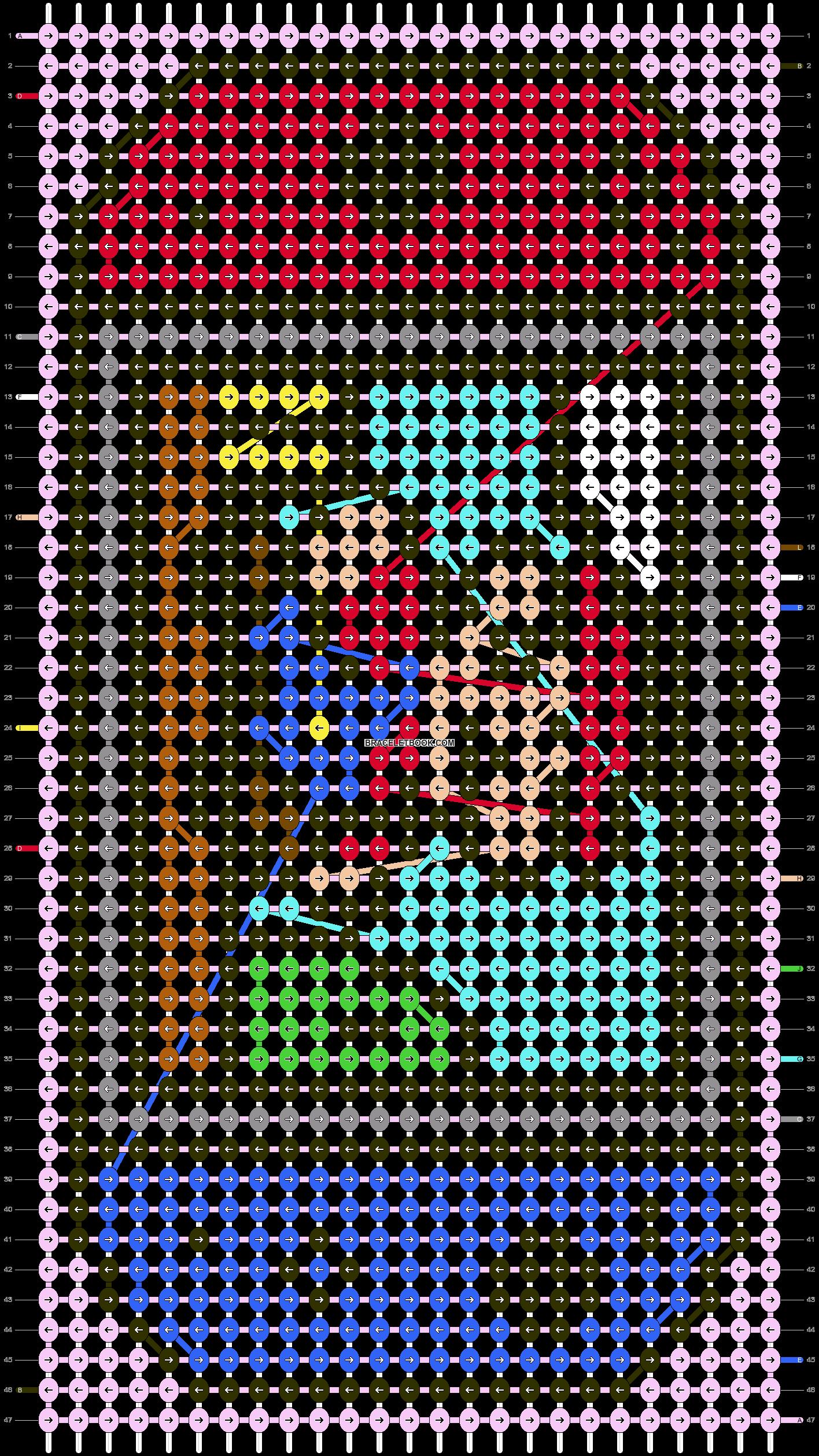 Alpha pattern #56273 pattern