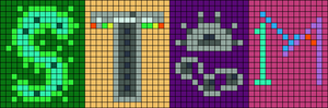 Alpha pattern #56286