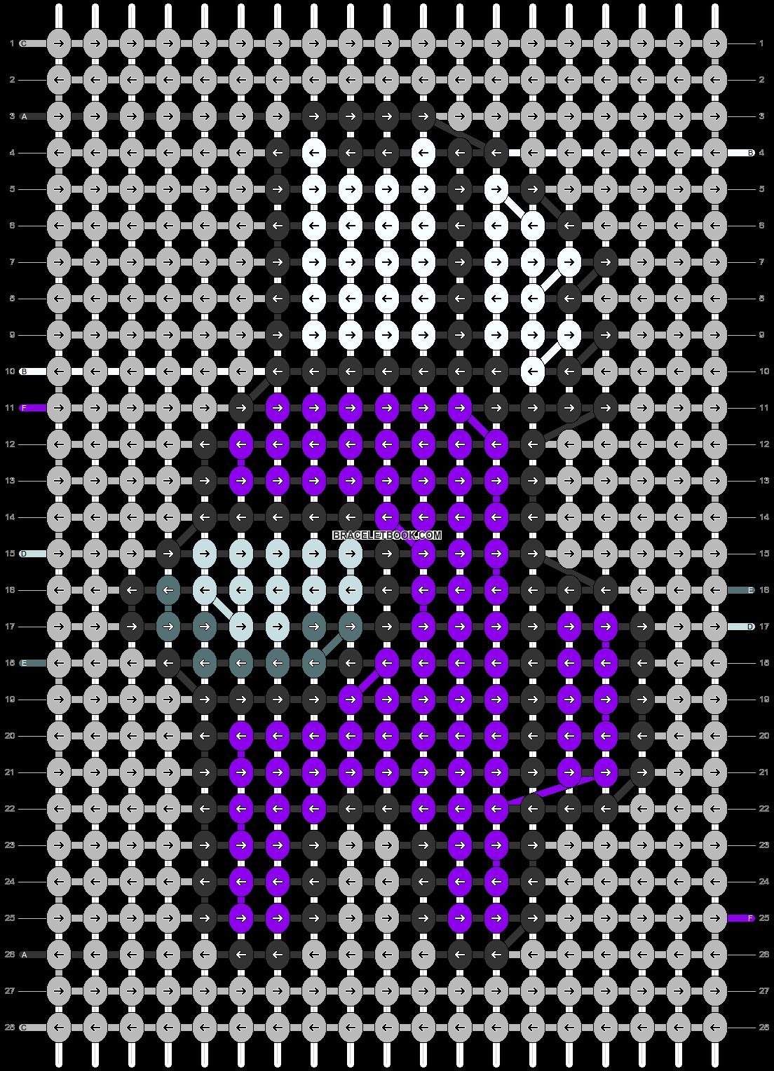 Alpha pattern #56287 pattern