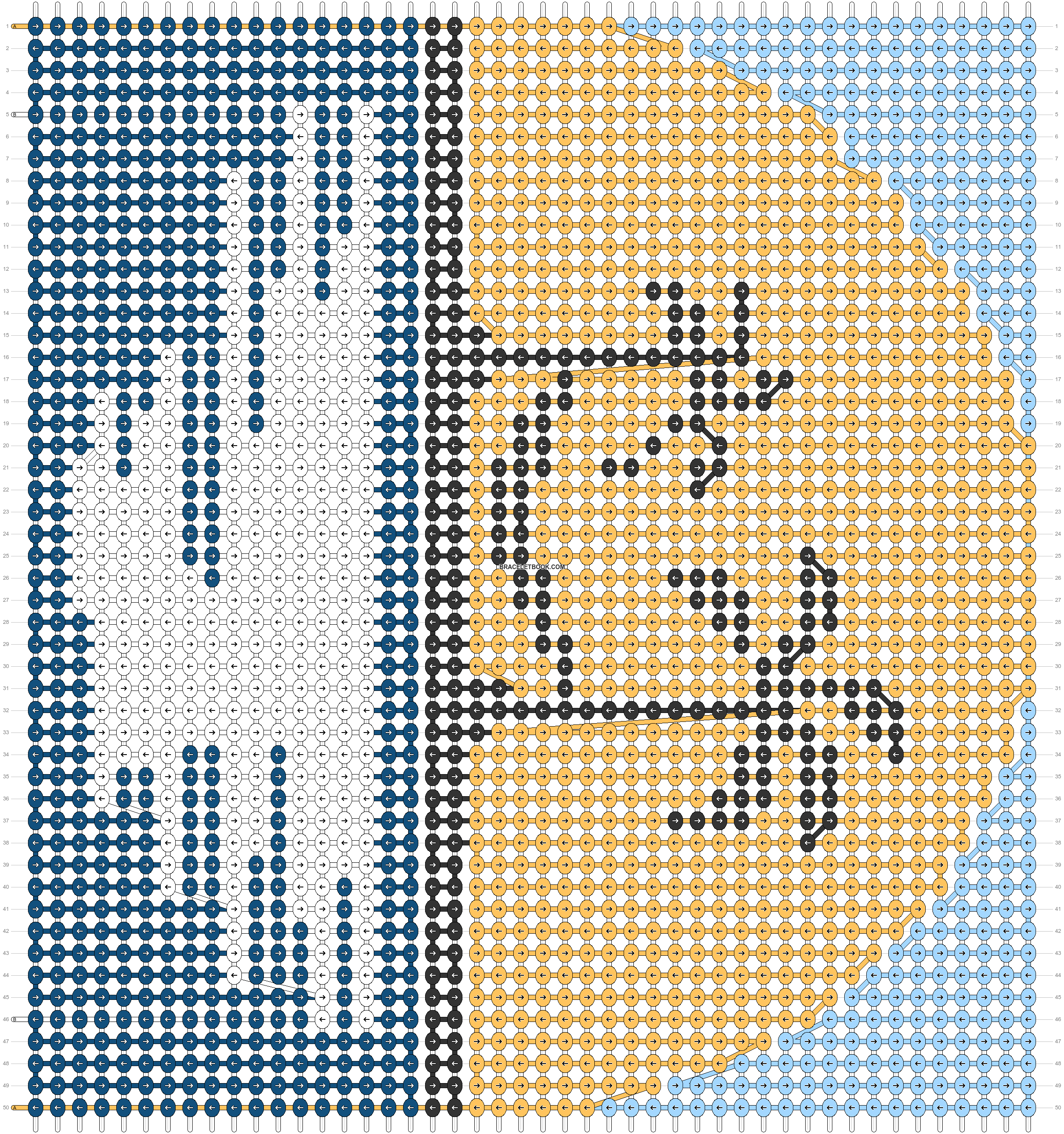 Alpha pattern #56301 pattern