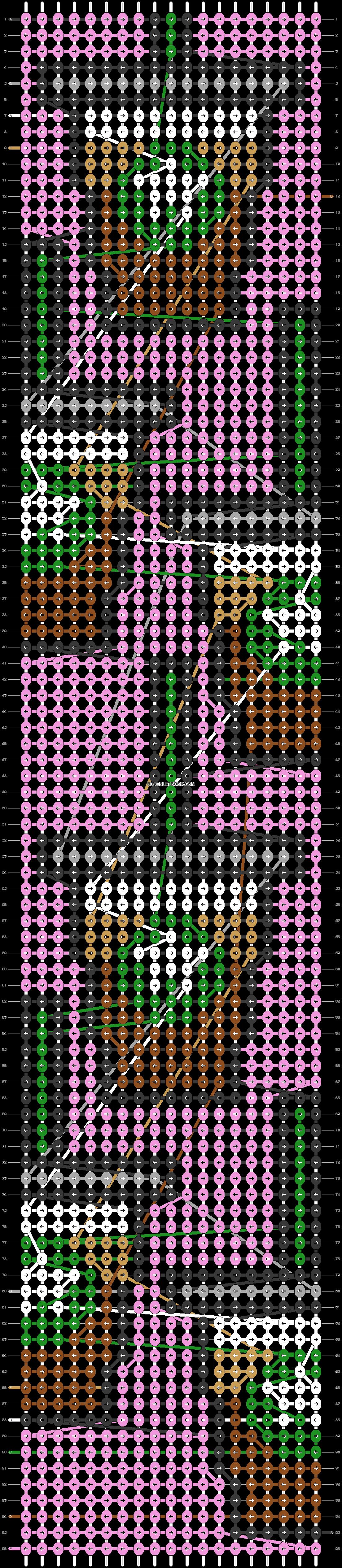 Alpha pattern #56324 pattern