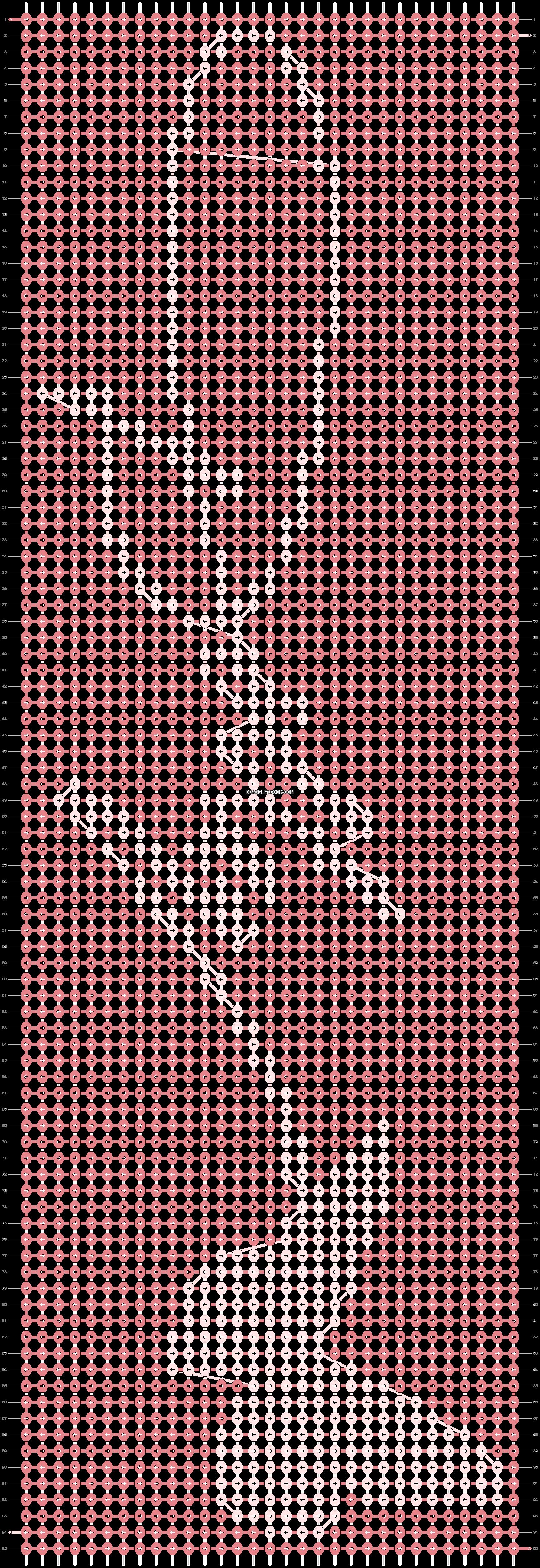 Alpha pattern #56353 | BraceletBook