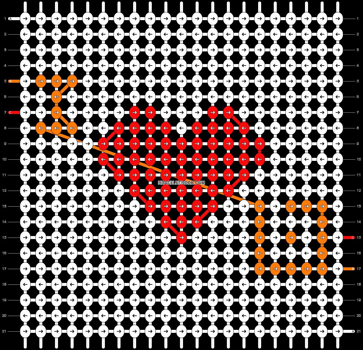 Alpha pattern #56384 pattern