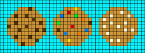 Alpha pattern #56400