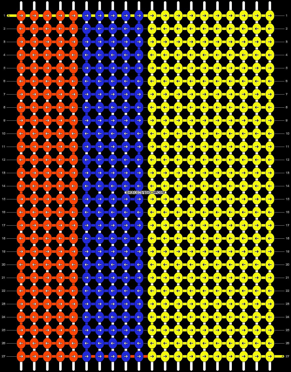 Alpha pattern #56420 pattern