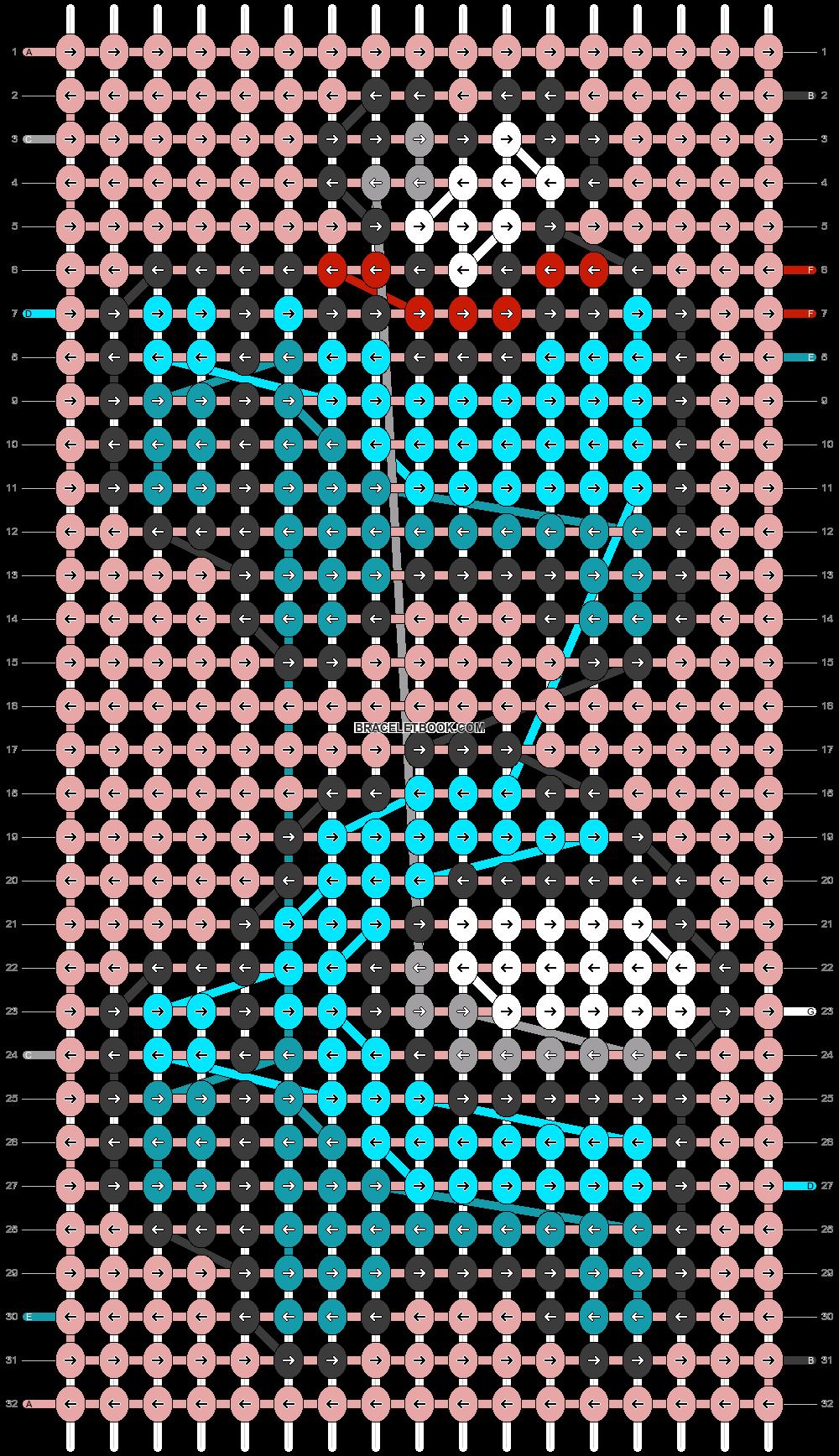 Alpha pattern #56424 pattern