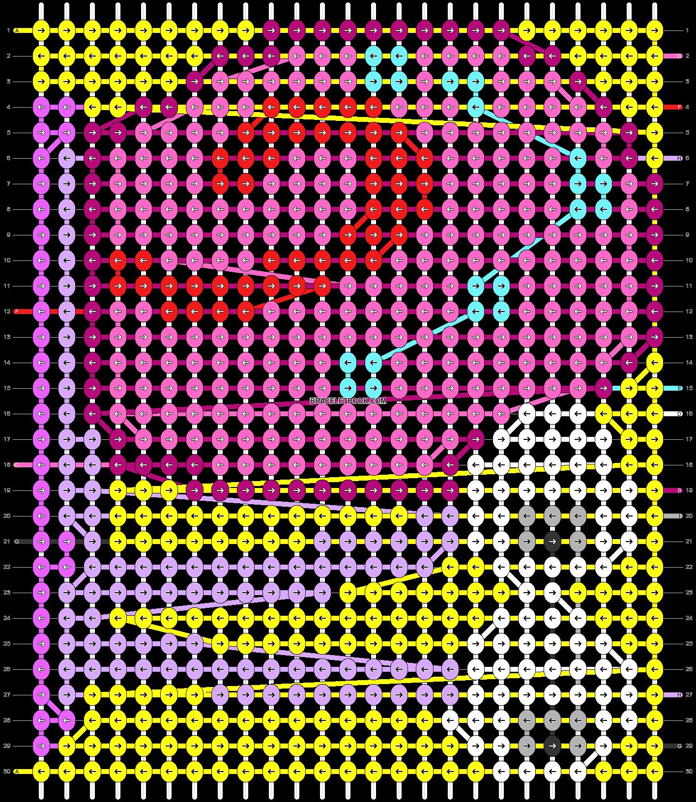Alpha pattern #56432 pattern