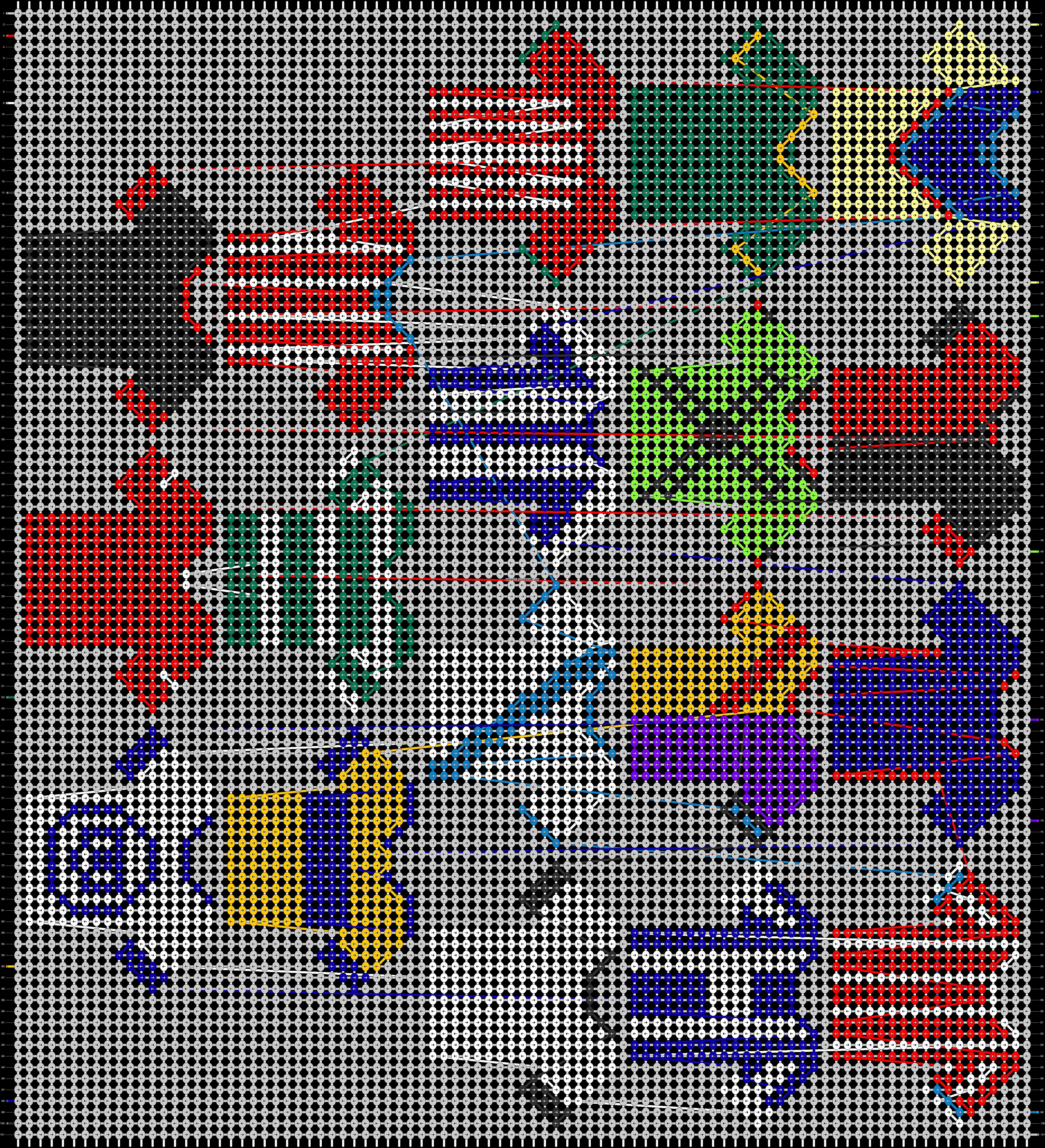 Alpha pattern #56435 pattern