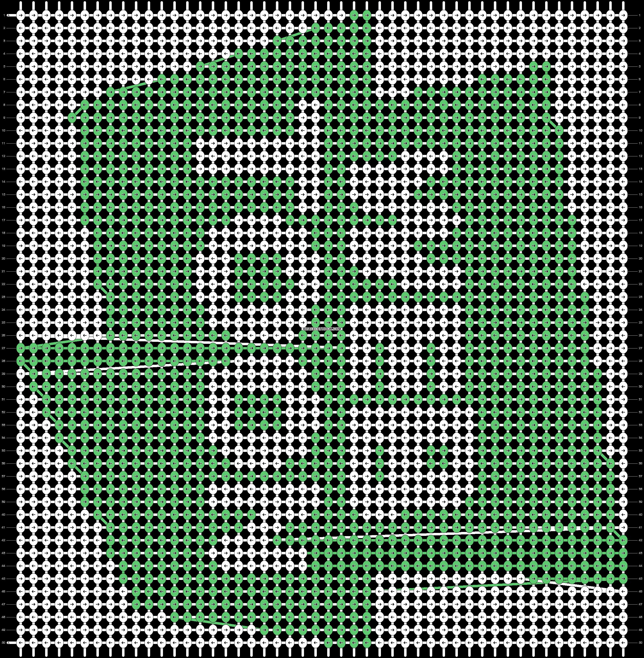 Alpha pattern #56453 pattern