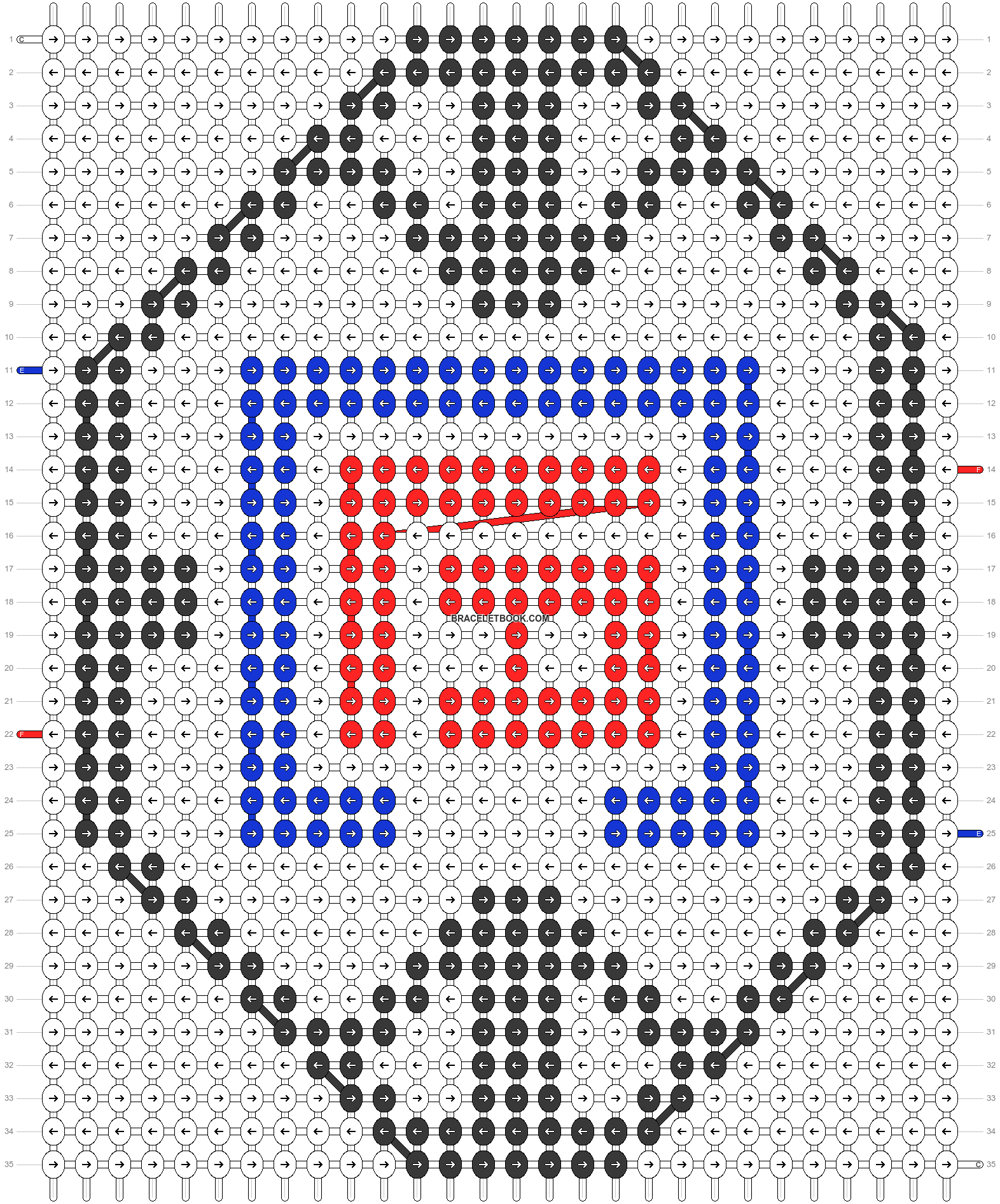 Alpha pattern #56459 pattern