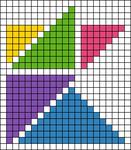 Alpha pattern #56460