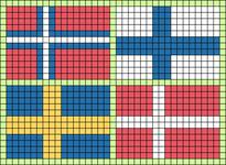 Alpha pattern #56464