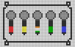 Alpha pattern #56493