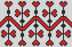 Alpha pattern #56505