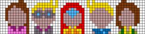 Alpha pattern #56558