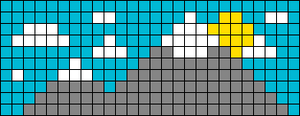 Alpha pattern #56565