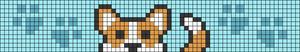 Alpha pattern #56580