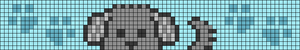 Alpha pattern #56581
