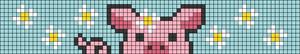 Alpha pattern #56592