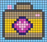 Alpha pattern #56598