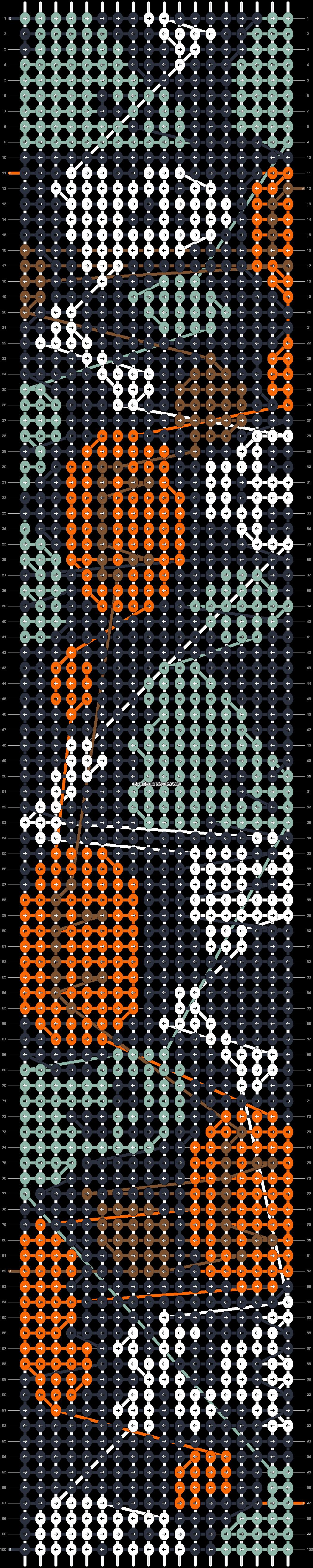 Alpha pattern #56601 pattern