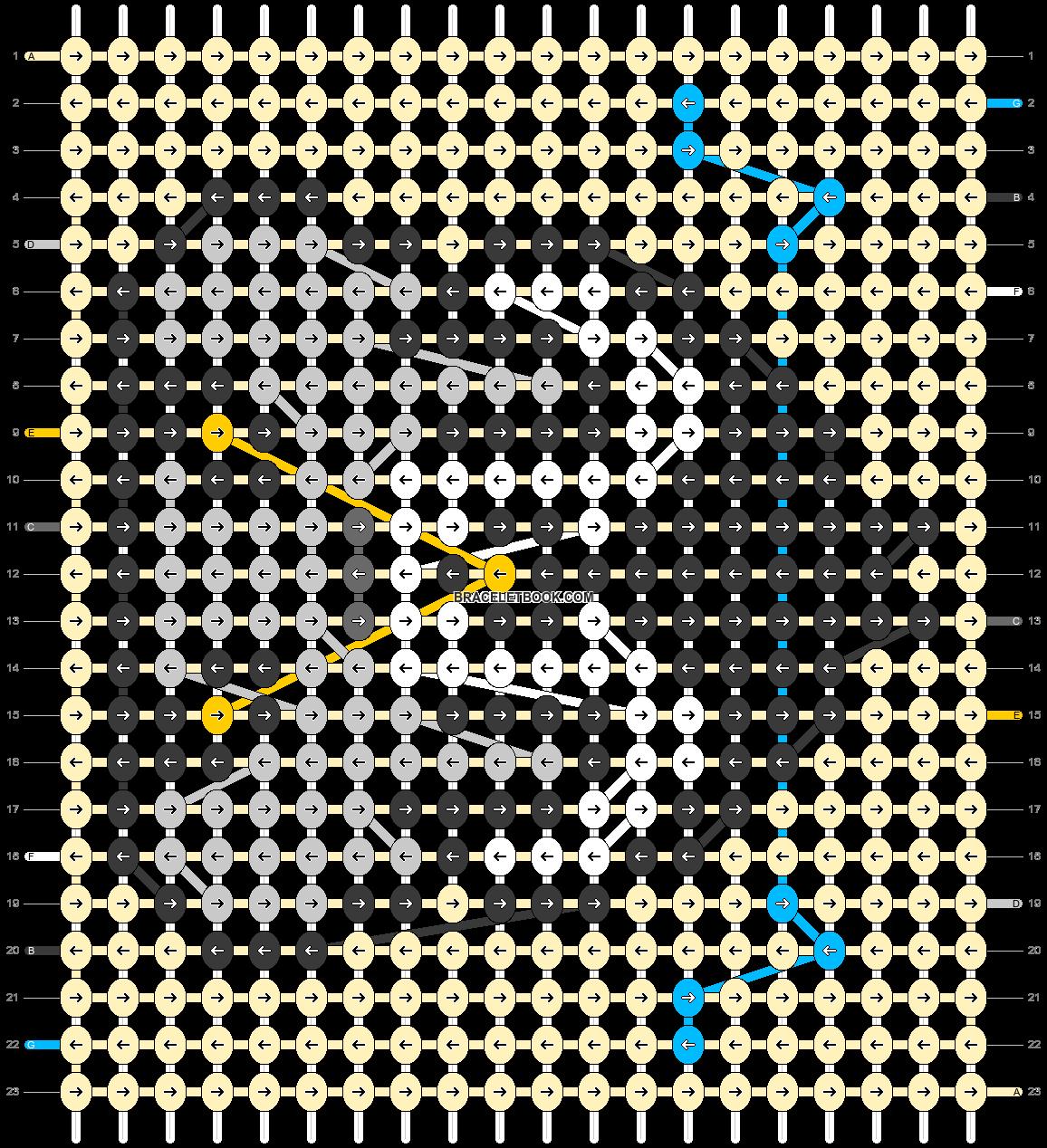 Alpha pattern #56602 pattern