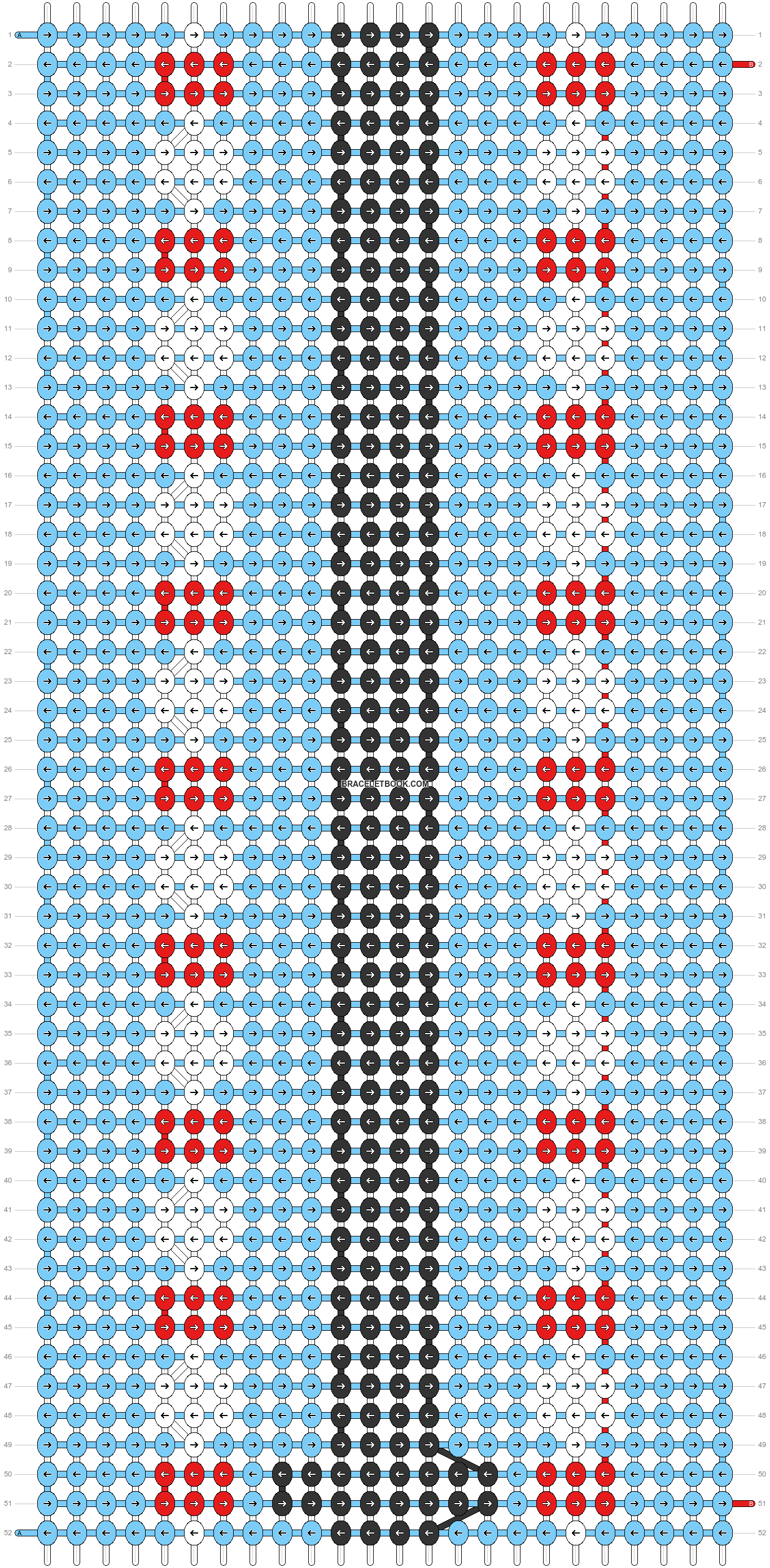 Alpha pattern #56658 pattern