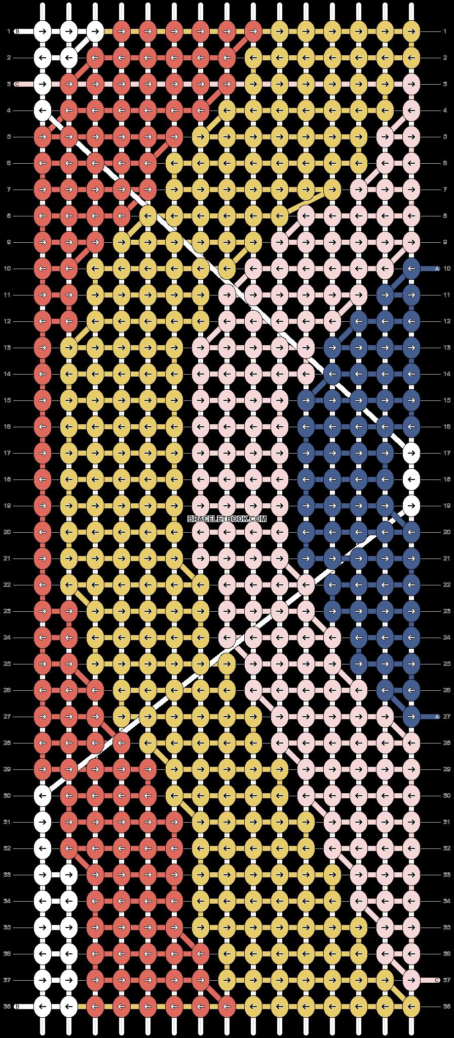 Alpha pattern #56664 pattern