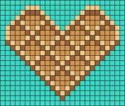Alpha pattern #56679