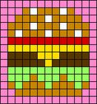 Alpha pattern #56693