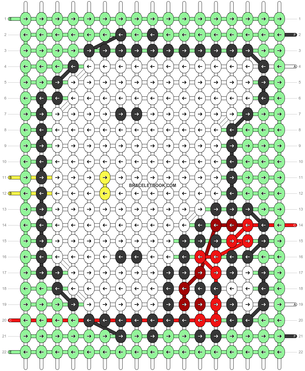 Alpha pattern #56708 pattern