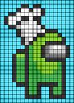 Alpha pattern #56718