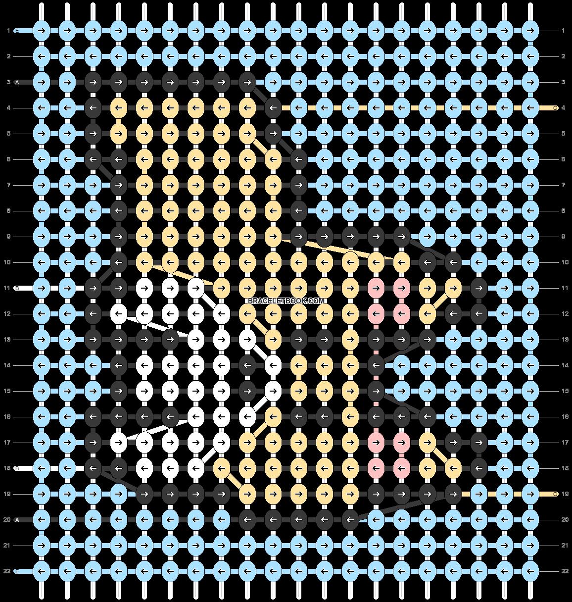 Alpha pattern #56776 pattern