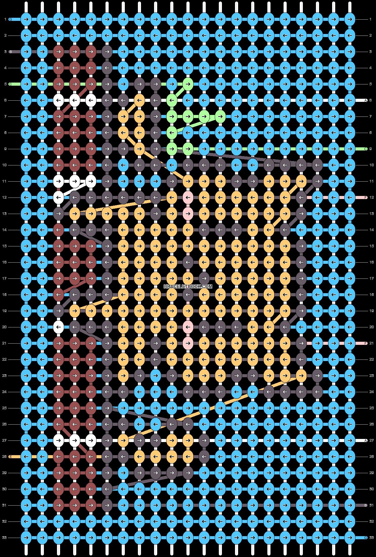 Alpha pattern #56779 pattern
