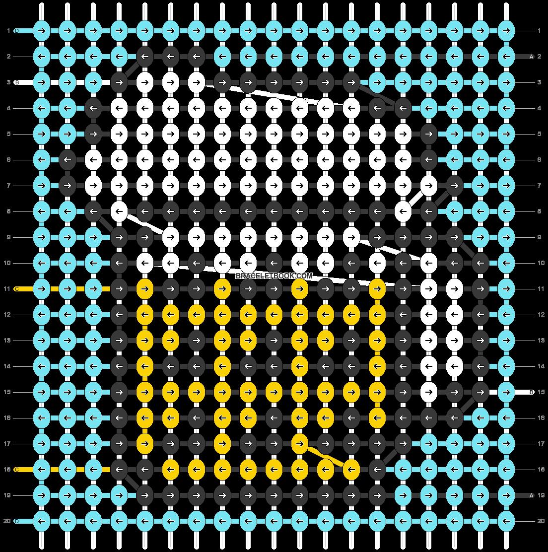 Alpha pattern #56787 pattern