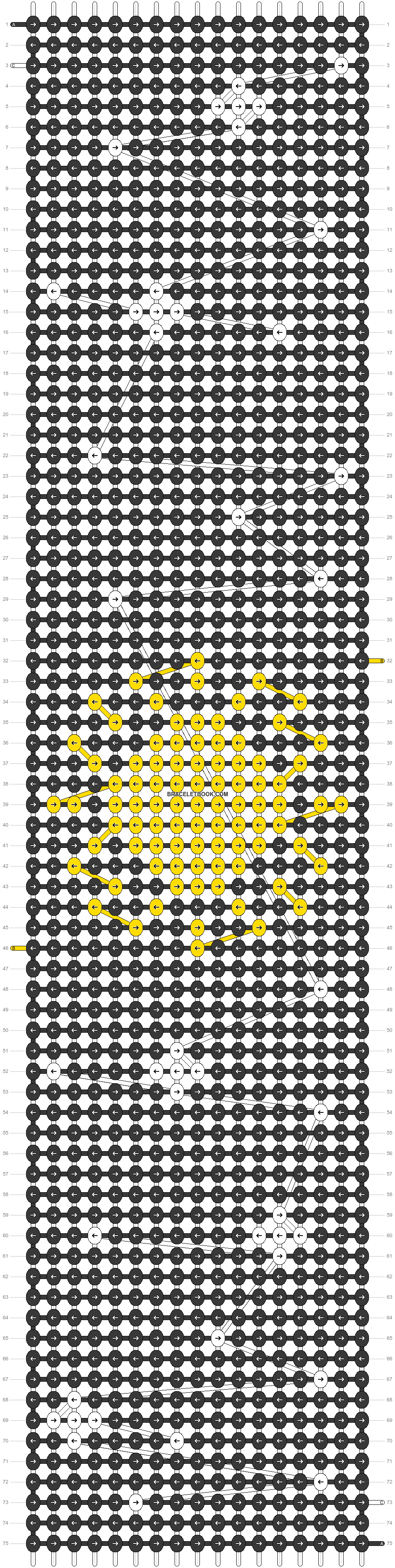 Alpha pattern #56804 pattern