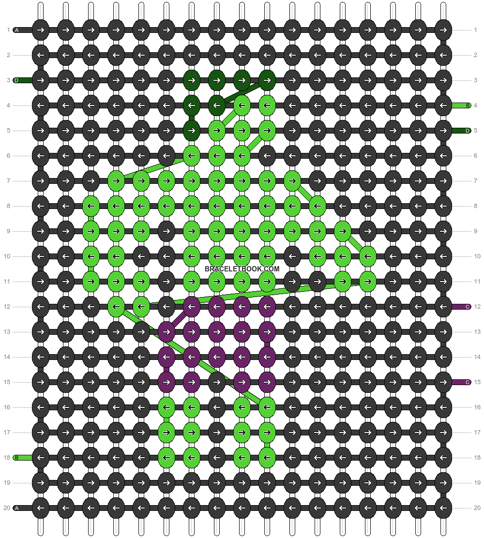 Alpha pattern #56874 pattern