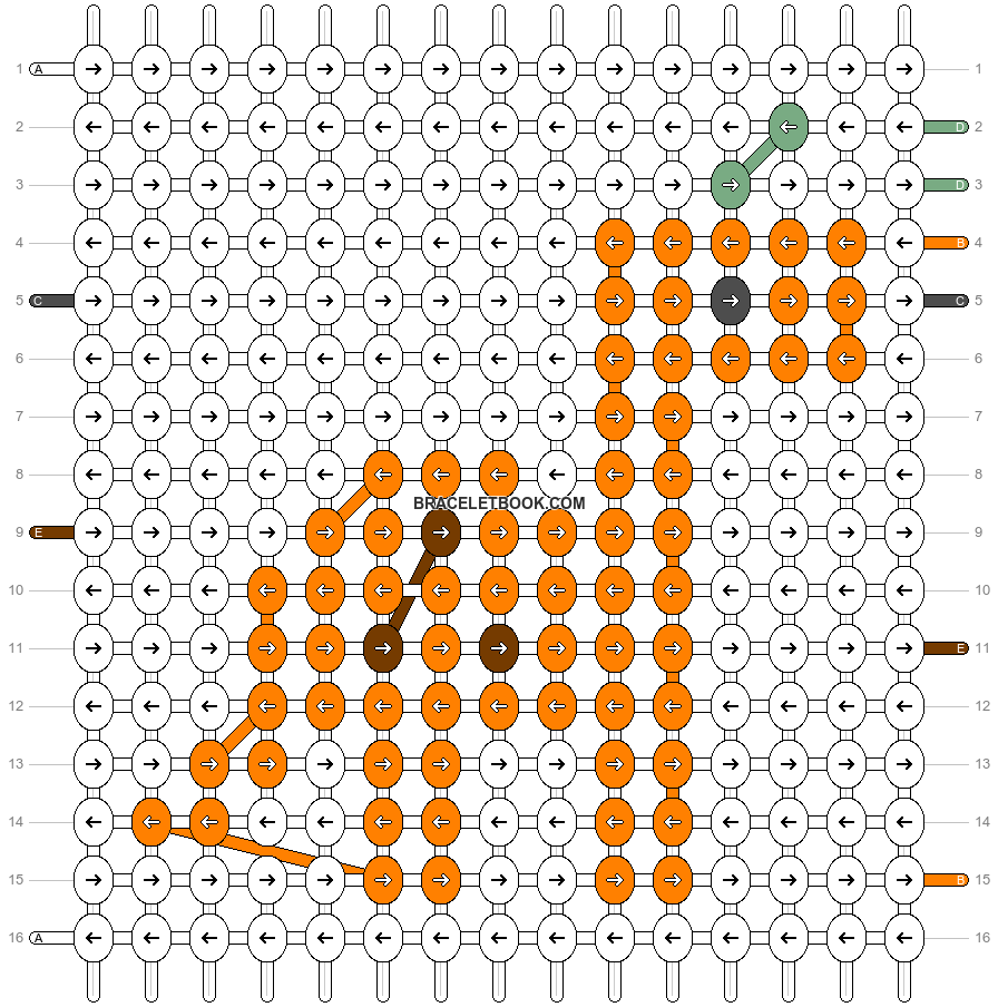 Alpha pattern #56890 pattern