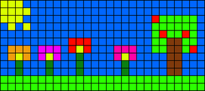 Alpha pattern #56912