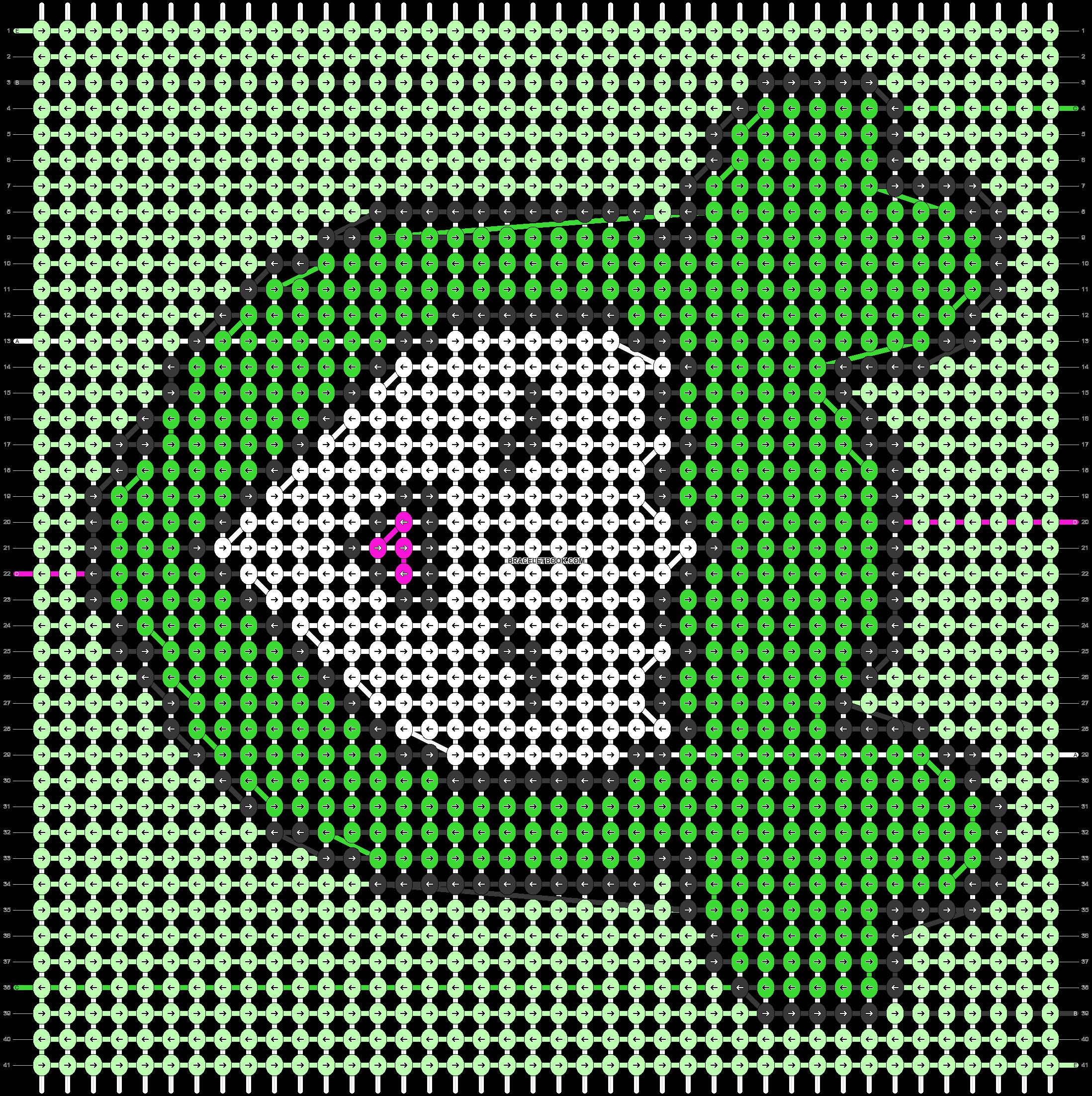Alpha pattern #56916 pattern