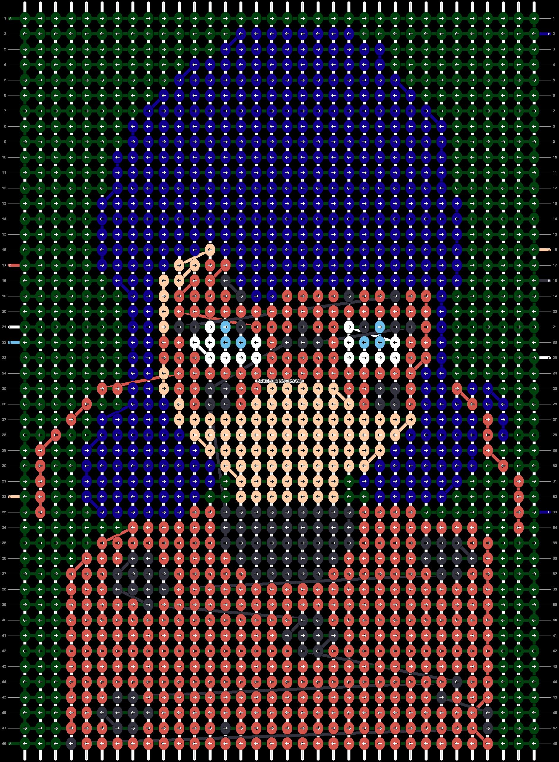 Alpha pattern #56964 pattern