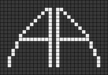 Alpha pattern #56966