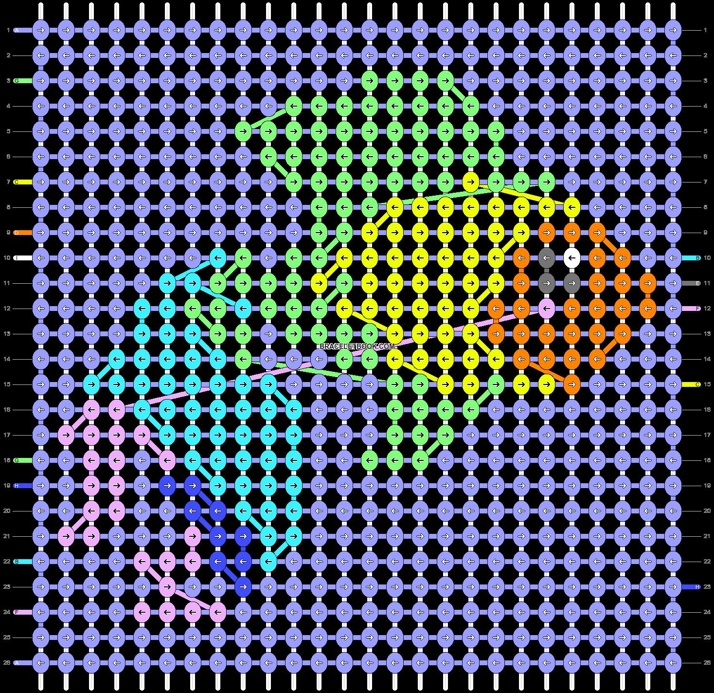 Alpha pattern #56985 pattern
