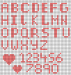 Alpha pattern #56989