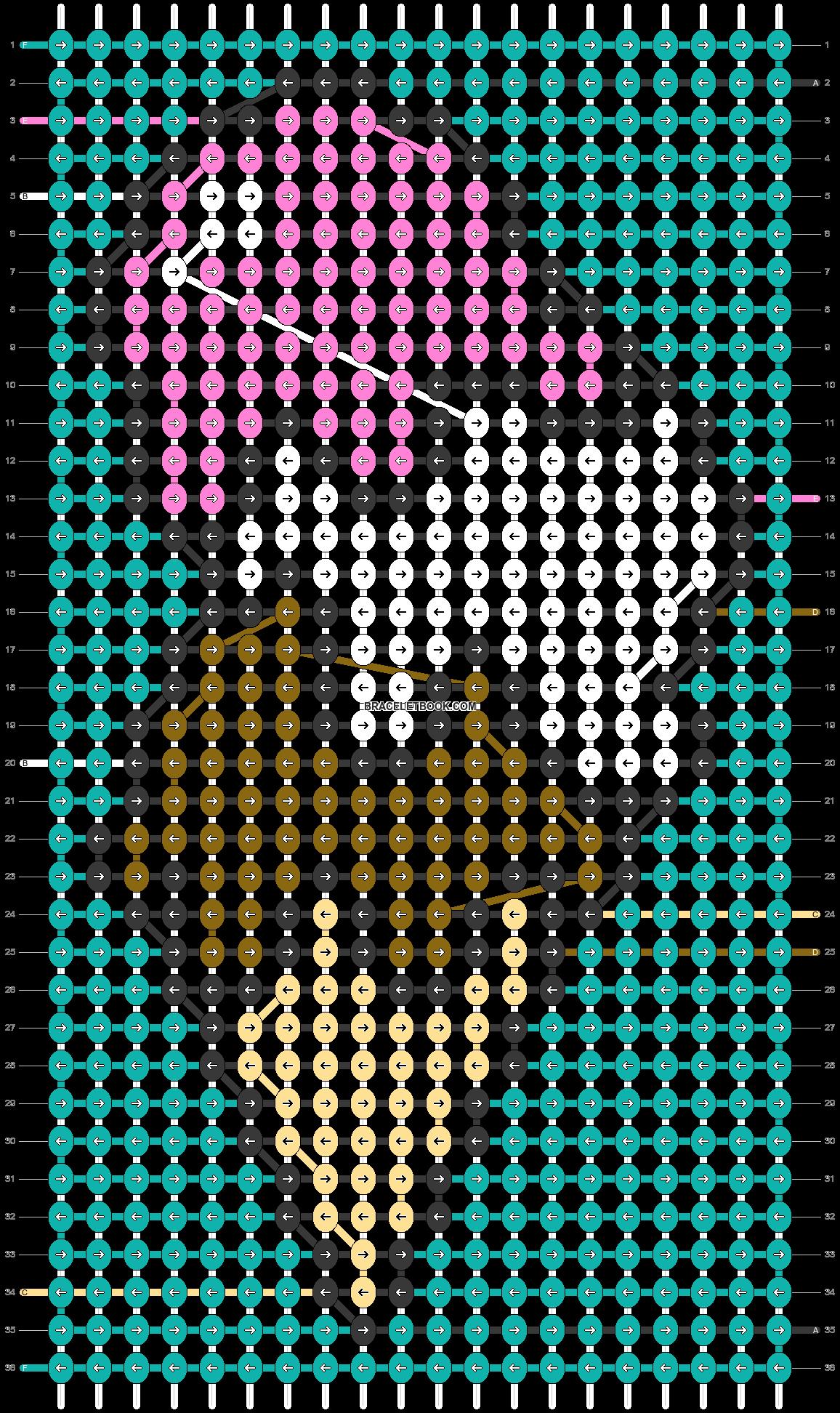 Alpha pattern #57001 pattern
